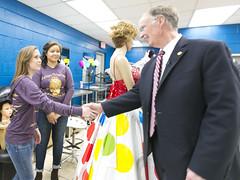 02-13-17 Governor Bentley tours Marshall Technical School