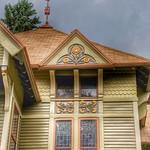 Homer ~ New York ~ Sunflower House ~ Historic  ~ Queen Anne Architecture