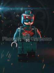 Sleeper Agent - Coming Soon... (Phoenix Custom Bricks) Tags: lego minifigure custom minifig agent superhero villain captain