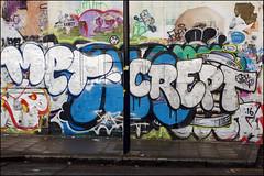 Met / Crept (Alex Ellison) Tags: met crept cbm hackneywick eastlondon urban graffiti graff boobs