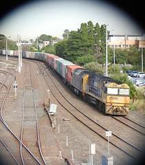 NR49-AN4 on 3AM5 Arrival (damoN475photos) Tags: nr49 an4 3am5 arrival westfootscray pn nationalrail sa 2017