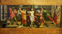 Inauguration after-party (Bosc d'Anjou) Tags: italianart francescodetatti bostopolyptych flagellation flogging pinacoteca castellosforzesco milan italy trump inauguration teaparty lombardart