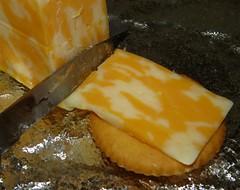 Puttin' it on the Ritz (HeidiG71) Tags: saycheese macromondays macro cheese ritz