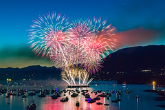 Celebration of Light (michaelsabijon) Tags: fireworks vancouver canada beautifulbritishcolumba canoncanada honda celebration light festival