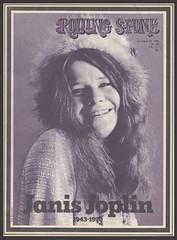 Rolling Stone Magazine Oct 29, 1970 Janis Joplin 1943-1970 A (arbutushilldesign) Tags: rollingstonemagazine janisjoplin 19431970
