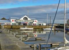 Fleetwood Marina (Eddie Crutchley) Tags: europe england lancashire fleetwood outdoor marina boats blueskies clouds