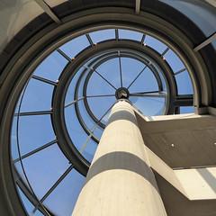 DHM Pei-Turm [in explore] (Cydracor) Tags: berlin dhm museum pei glas panasonic lumix tz71