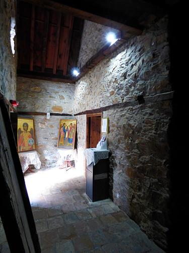 Pedoulas - Church of Archangelos Michail, interior, narthex