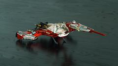 NABOO N-1 Starfighter [ 2nd Edition ] (Joe Gan) Tags: lego star wars starwars sw technic white moc mocs rebrick 42000 amoc plastic toys spaceship space ship starfighter grand prix racer alternatives naboo n1 j0egan joegan