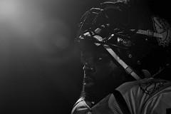 under the light (Bernardvinc) Tags: sport nikon noir blanc black white football
