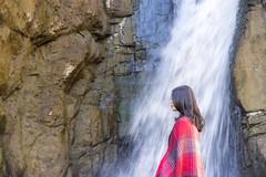 water girl (ChenLiang0729) Tags: girl red scarf redscarf adventure adventurer water waterfall rock valley naturetaiwan natureportrait nature naturebackground cliff bright inspiration beautiful amazing taiwan iseetaiwan 女孩 瀑布 台灣 南投 夢谷瀑布 冒險 探索 explore