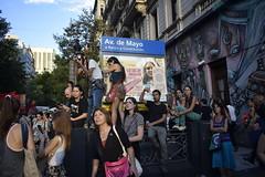 Multitud (bigbangbebop) Tags: subway subte gente people marcha feminismo feminist feministas av de mayo march 8m