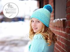 Cozy Cake Beanie Hat Crochet Pattern by Cozy Hat #caroncakes #caroncakesyarn #crochetwear #yarnaddict #yarn #winterwear #beanie #beaniehat #pompomhat #slouchy #pattern #crochetpattern #crocheting #etsyshop #pompombeanie #stitch #etsy #skigear #crafts (Anastasia wiley) Tags: instagramapp square squareformat iphoneography uploaded:by=instagram crochet pattern by cozy hat cozyhat anastasia wiley cake beanie yarn stitch with pom slouchy