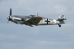 D-FWME Red 7 RIAT Fairford 18 July 2015 (ACW367) Tags: hispano fairford riat red7 buchon dfwme ha1112m1l bf109g4