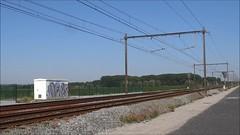 NMBS Double decktrain to Knokke and Blankenberge. (Franky De Witte - Ferroequinologist) Tags: de eisenbahn railway estrada chemin fer spoorwegen ferrocarril ferro ferrovia