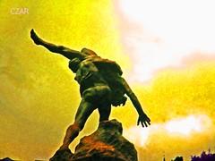 acrobat (czar_fernando) Tags: sculpture art statue dance spirit skulptur improvisation tanz figure fernando acrobat contact spiritual figur czar spirituel akrobat