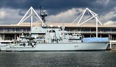 HMS Hurworth M39 (1) @ RVD 15-09-15 (AJBC_1) Tags: uk england london boat ship unitedkingdom military navy vessel nato warship royalvictoriadock minesweeper eastlondon rn royalnavy mcv nikond3200 newham dsei britisharmedforces royaldocks m39 excelexhibitioncentre militaryvessel navalvessel londonboroughofnewham hmshurworth minehunter londonexcelcentre dsei2015 dlrblog londonsroyaldocks ajc shipsinpictures