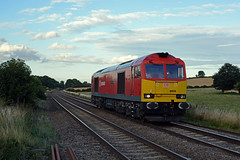 60039 0F54 ketton ward sidings to toton tmd seen at rearsby (I.Wright Photography over 2 million views thanks) Tags: db tug ward seen ketton dbs schenker tmd sidings toton tugging rearsby class60 60039 dbschenker 0f54