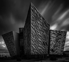 Titanic Belfast (Davoud D.) Tags: longexposure belfast le northernireland ni titanic modernarchitecture ulster queensisland titanicquarter rmstitanic nd110 titanicbelfast