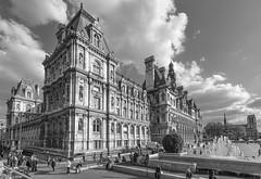 París (José M. Arboleda) Tags: blancoynegro paris hotel de ville ayuntamiento eos josémarboledac blackwhite ef1740mmf4lusm markiii canon 5d