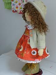 """DARIJA  19"""" doll (Dearlittledoll) Tags: puppet waldorf organic waldorfdoll organicdoll dearlittledoll waldorfdoll18inch"""
