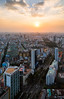 Saigon Sunset - Vietnam, HCMC (Nomadic Vision Photography) Tags: sunset skyline modern cityscape vietnam citylights bluehour viewpoint saigon hochiminhcity hochiminh jonreid commercialzone tinareid nomadicvisioncom bitexcofinancialtower