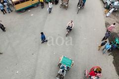 H502_2015 (bandashing) Tags: street england people ariel walking manchester ride traffic walk rickshaw sylhet bangladesh birdseyeview pedal socialdocumentary aoa bondor bandashing akhtarowaisahmed bondorpoint