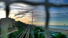 Station view (alericci77) Tags: travel sunset sky station nokia globe hdr lumia1020