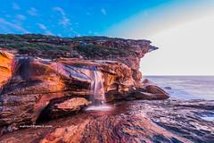 Y755769 (autrant) Tags: cliff sunrise landscape sydney australia theroyalnationalpark nikkorafs1424f28ed nikond750