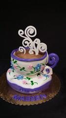 Teacup Cake (dragosisters) Tags: birthday flowers tea teacup teaparty