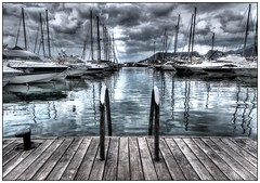 Yachting in Calp (2) (kurtwolf303) Tags: ocean sea sky españa topf25 water clouds port marina reflections dark harbor spain topf50 topf75 wasser europe 500v20f yacht outdoor dramatic himmel wolken topf150 hafen topf100 hdr spanien 800views omd digitalphotography yachting calpe costablanca levante spiegelungen travelphotography segelboote calp 2000views photomatixpro 1500v60f 250v10f systemcamera unlimitedphotos micro43 microfourthirds olympusem1 kurtwolf303