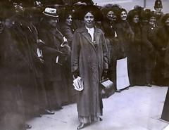 Christabel Pankhurst, c.1911.