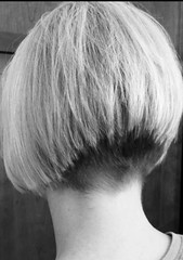 image (Shavednapes) Tags: shavednapes shavednape buzzednape nape shaved buzzed angled bob inverted concave aline