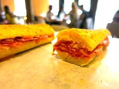 IMG_8630 (David Danzig) Tags: food june dc washington spain cured free ham sandwich pigs range 2015 ibrico blackfooted boccadillo acornfed 48month