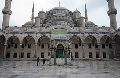 Blue Mosque sahn