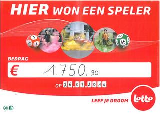 lotto - €1.750,90