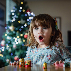 Margo and the magic of Christmas (stocks photography.) Tags: christmas lights magic stocks margo grandaughter russiandolls themagicofchristmas stocksphotography michaelmarsh otus1455 zeissotus canon5dsr