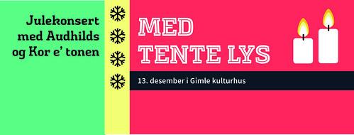 Plakat, julekonsert 2015