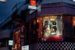 untitled-23.jpg (guy.p) Tags: aliceinwonderland harajuku tokyo japan rabbit bunny costume shopwindow shop rearwindow night street