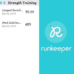 Trying Runkeeper