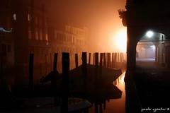 luci in canal vena (paolo agostini) Tags: mist fog nebbia chioggia foschia rivavena