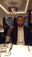 Ready to eat at the 14th best restaurant in the world with 2 Michelin stars.