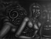 Kong Island (Tom McKee / Art Guy) Tags: surreal surrealism ink visionary visionaryart artvisionary rawvision drawing dark deviant detailed lowbrow prisma pencil narrative narrativeart