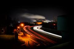 I'm running home to you (pmryderesq) Tags: longexposure light trails cityscape landscape sky amateurphotographer amateurphotography burystedmunds city