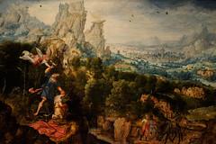 """Landscape with the Offering of Isaac"", Herri met de Bles, c. 1540 (Joey Hinton) Tags: olympus omd em1 cincinnati art museum mft m43 microfourthirds 1240mm f28"