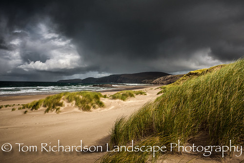 Storm Light Sandwood Bay