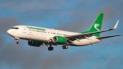 EZ-A016 - Boeing 737-82K - LHR (Seán Noel O'Connell) Tags: turkmenistanairlines eza016 boeing 73782k 737 738 heathrowairport lhr asb 27r t5427 tua427