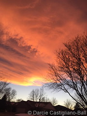 December 20, 2016 - Another gorgeous Colorado sunset. (Darcie Castigliano-Ball‎)