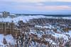 Hoodoos - Velvia 50 exp* (magnus.joensson) Tags: usa american utah brycecanyonnationalpark hoodoos winter sunrise snow nikon nikonfe zeiss planar 50mm zf2 fuji velvia exp e6 81a