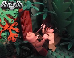 Punisher Vol 1 #1 Home [Application] (The_Lego_Guy) Tags: lego the guy custom poor build focus on read not